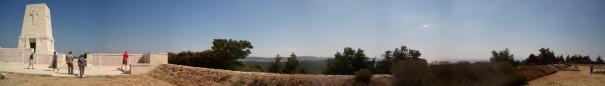Lone Pine Gallipoli - a panorama