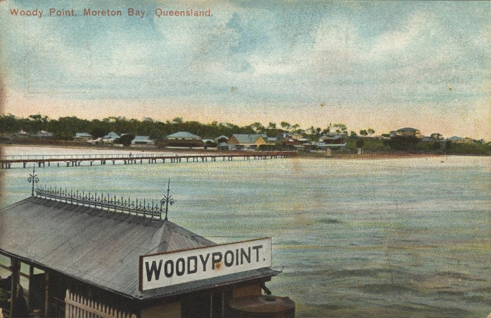Woody Point, Moreton Bay, Queensland, ca. 1906, Photographer: Unidentified