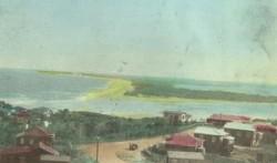 View to Bribie Island form Caloundra