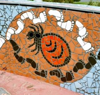 Honey ants mosaic