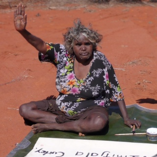 Imitjala Curley is nguraritja (custodian) for Ngunyma