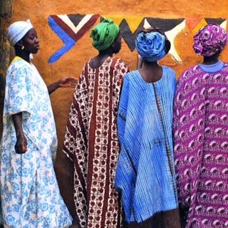 Image 4: Kessena People©1990 Margaret Courtney-Clarke