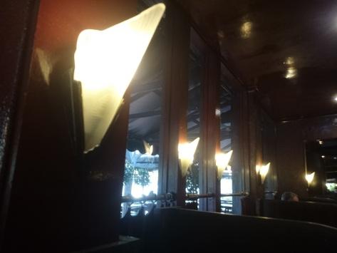Lights at Tilley's © Martin Drury 2014