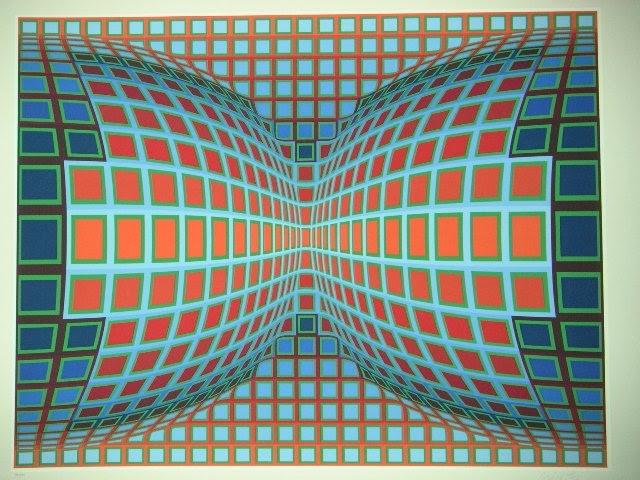 Composition Double Bleu et Rouge, 1980