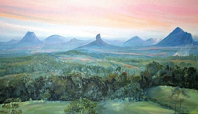 365 Places: Glasshouse Mountains