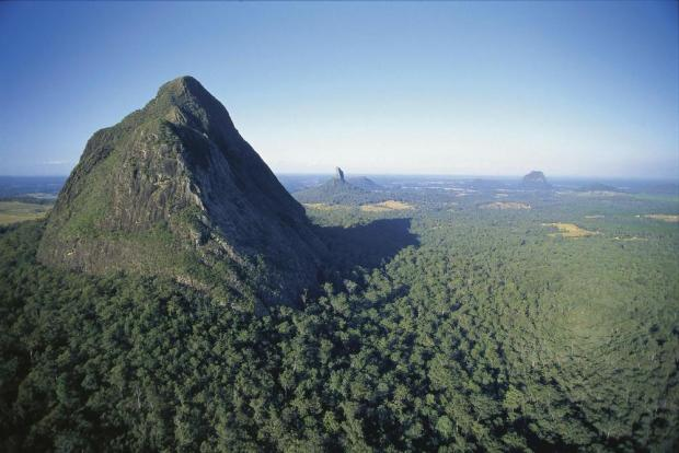 Glass House Mountains National Park, Image Credit: Tourism Queensland
