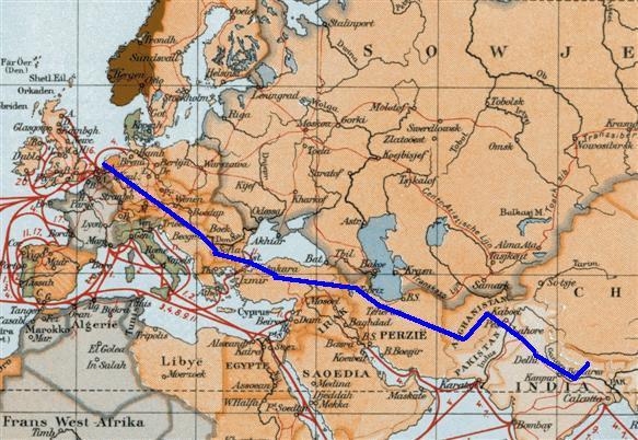 Hans Roodenburg's Hippy Trail