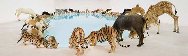 Cai Guo-Qiang: Falling Back to Earth, Image Credit: GOMA