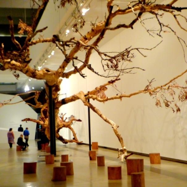 Cai Guo-Qiang: Falling Back to Earth, Image Credit: Garry Benson