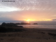 Korora Beach sunrise © Tracey Benson 2014