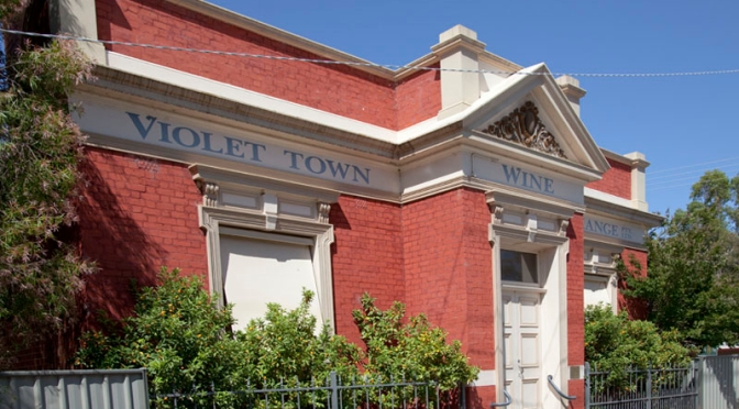 Violet Town Wine Exchange in the old National Bank Building at 30 Cowslip Street - See more at: http://www.aussietowns.com.au/town/violet-town-vic#sthash.K5KYMF7V.dpuf