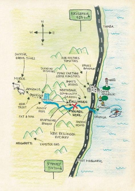 Coff's Region Map - Image Credit: 5 Church Street