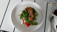 Cured Samlon dish -Food at TREEO Cafe