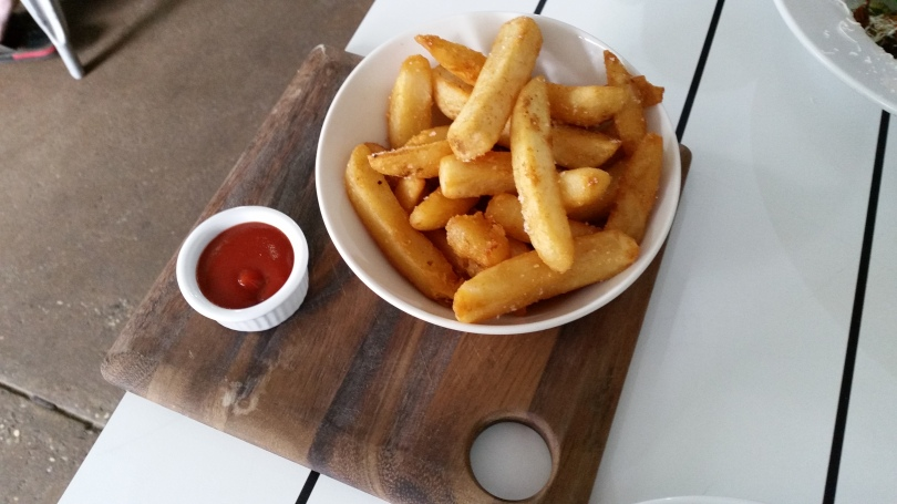 Food at TREEO Cafe