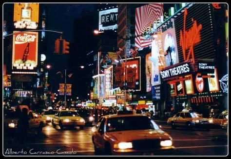 Image Credit: Alberto Carrasco Casado  Manhattan-Times square, US (1997) (analog photography) https://www.flickr.com/photos/albertocarrasco/6546098263/