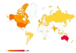 Geokult Travel map of viewers