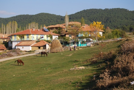 Away from the coastal resorts: Ovaçık Village, 2009.