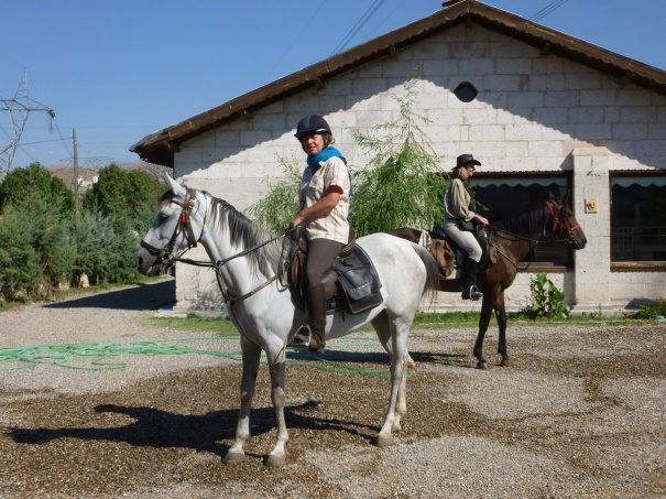 17 August, ready to go Zorlu and Asgar with riders