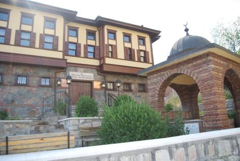 Evliya Çelebi's ancestral house in Kütahya, now a museum in his honour.