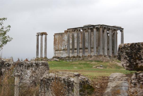 Temple of Zeus, Aizanoi, Çavdarhisar, 2009.