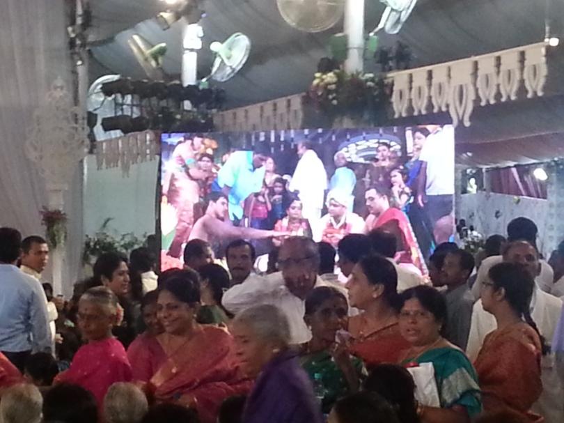 Wedding at Bangalore Palace, © Tracey Benson 2014