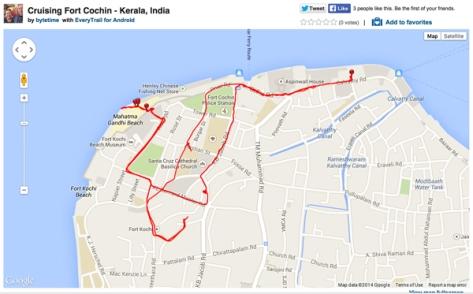 Cruising Fort Cochin