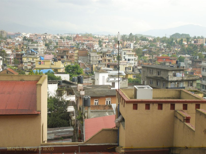View of Katmandu