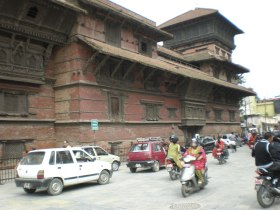 Image of old building in Katmandu