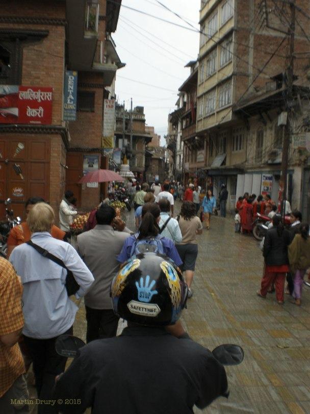 Image of old building in Katmandu