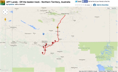 Our journey to the APY Lands