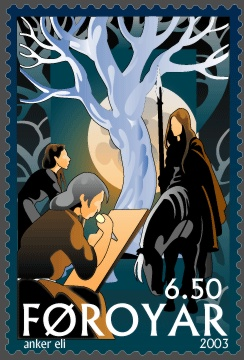 The Norns and the Tree, Faroe Islands 2003, Artist Anker Eli Petersen