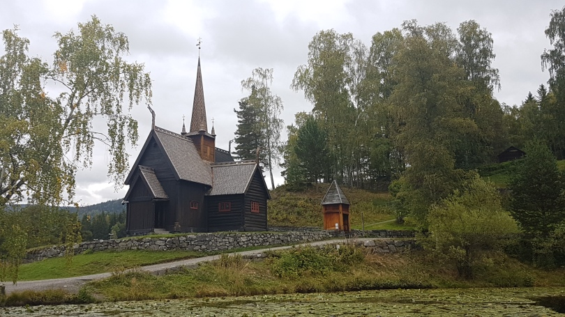 Stave church, Lillehammer, Photo by Tracey M Benson ©